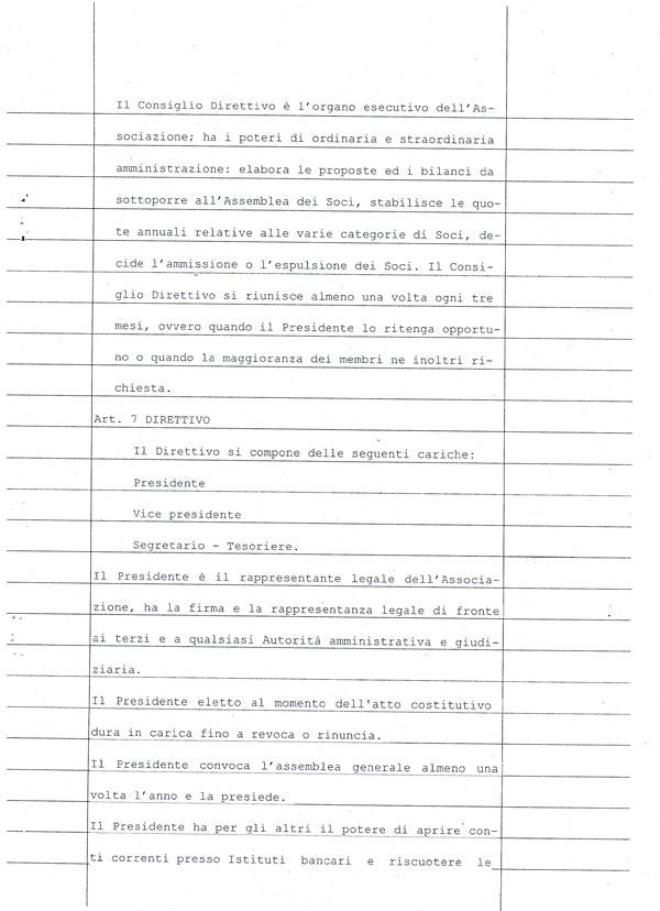 Statuto Associazione 13